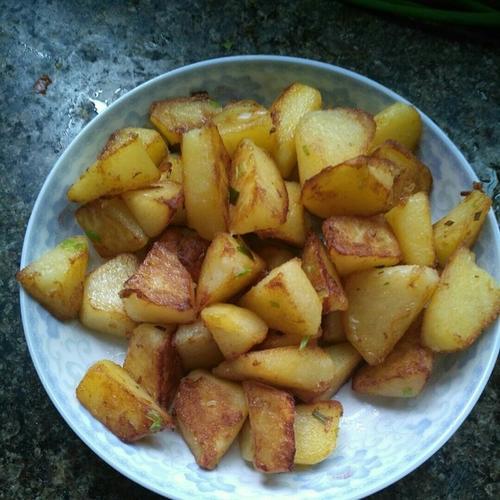大芋锅巴土豆